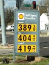 Average price of a gallon of gas - $4.00+
