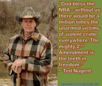 Uncle Ted on the NRA...